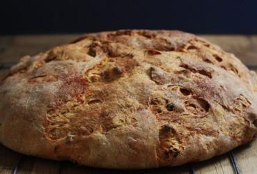 havuçlu ekmek foto bütün